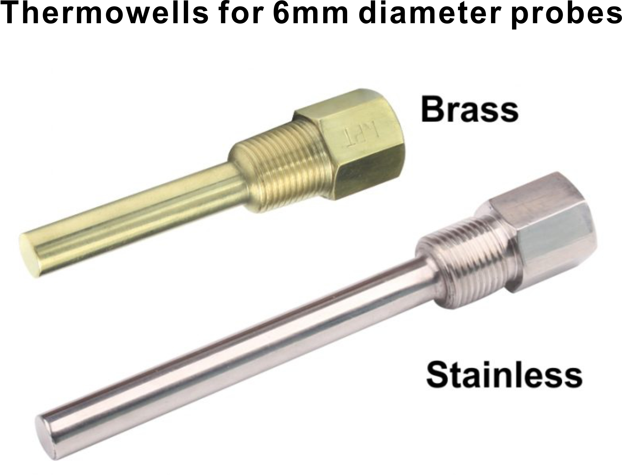 Brass stainless steel thermowells temco controls ltd